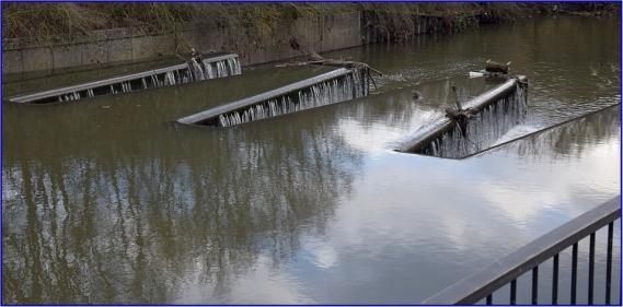 Weir Grand Union