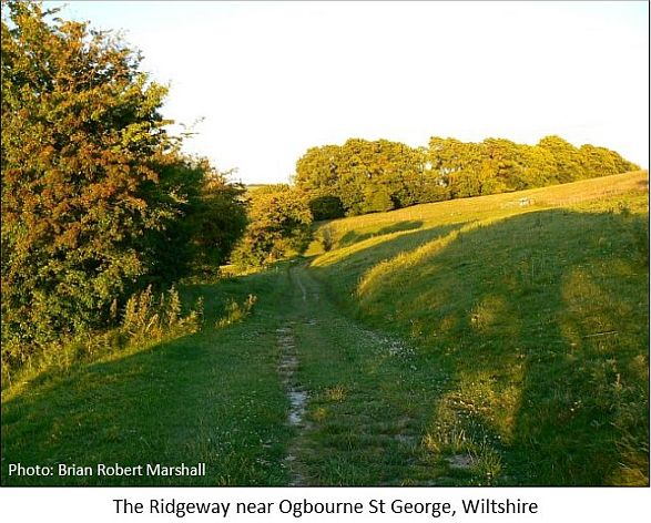 the ridgeway near ogbourne st george