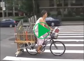 Bicycle Organ Video