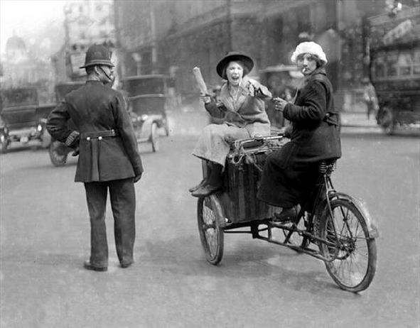 Cargo Tricycle 1920s