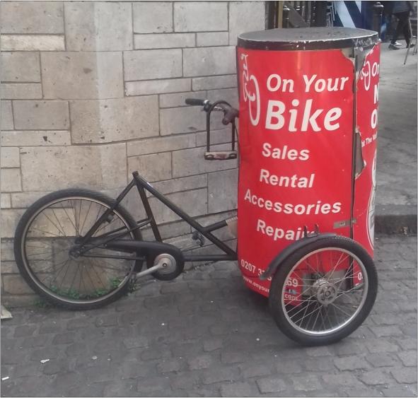 Nihola Advertising Trike