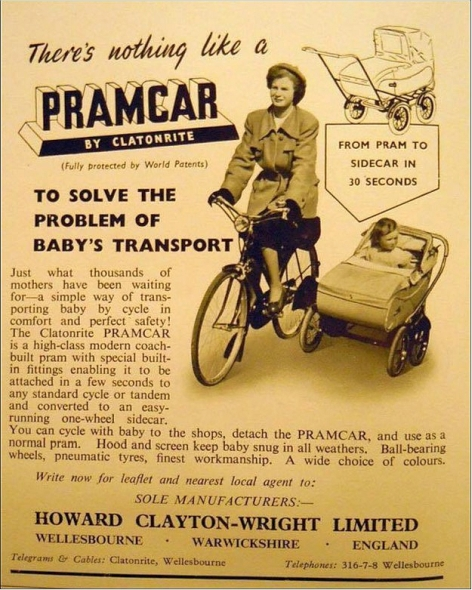 Pramcar Advert