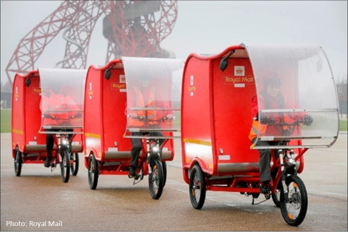 Royal Mail Delivery Tricycle