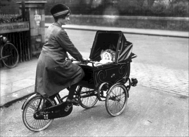 Tricycle with Pram