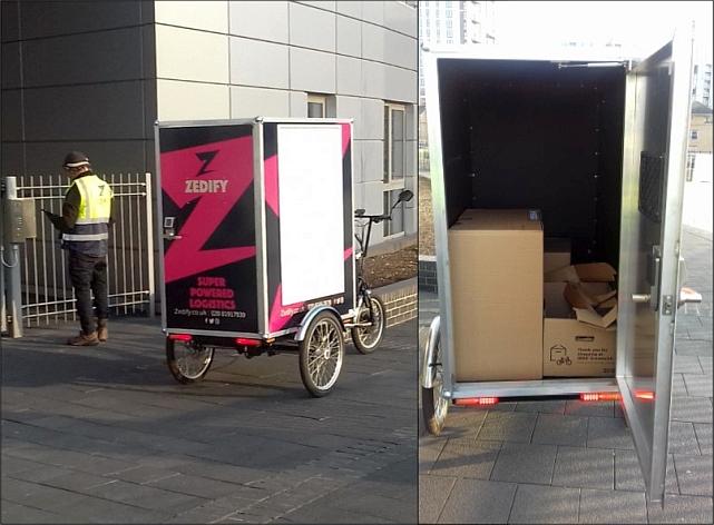 Zedify Cargo Trike