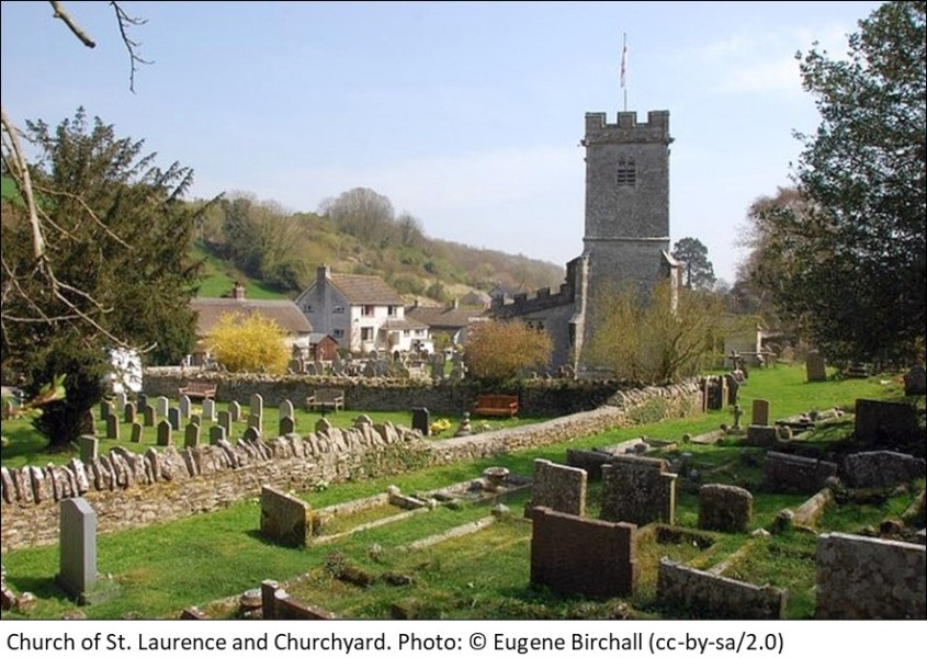 Church of St Laurence and Churchyard Upwey