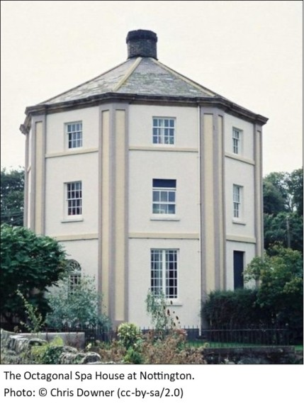 octagonal spa house Nottington
