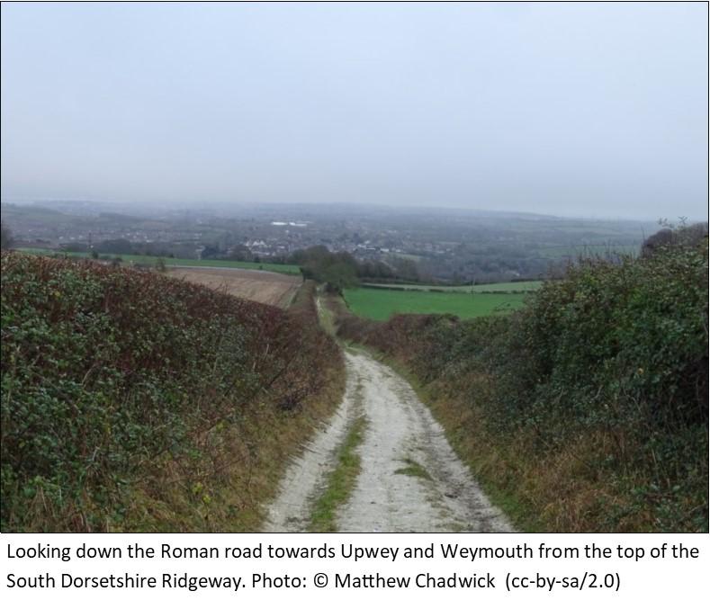 Old Roman Road on Dorsetshire Ridgeway