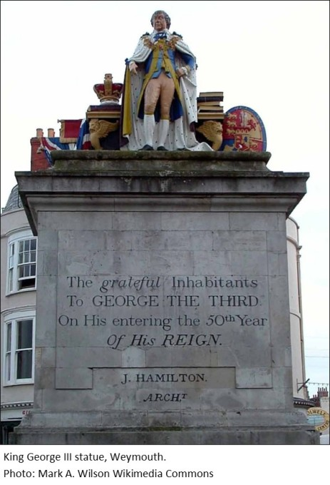 StatueKing George III Weymouth