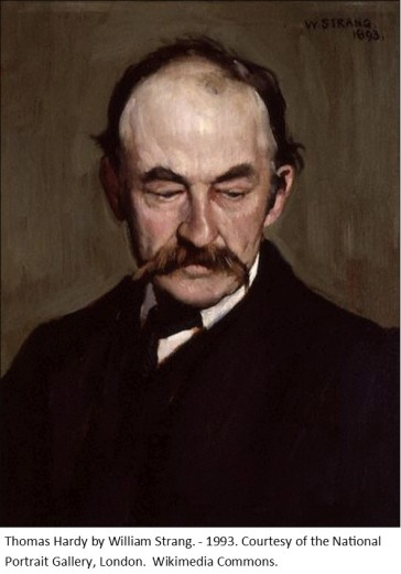 Thomas Hardy by William Strang1893