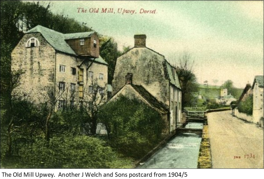 Upwey Mill Postcard