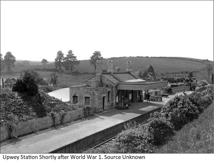 Upwey Station post war