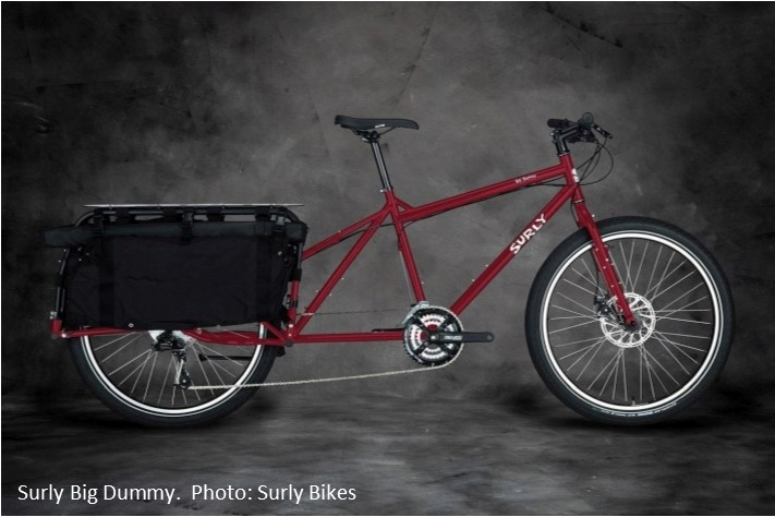 Surly Big Dummy Longtail Bike