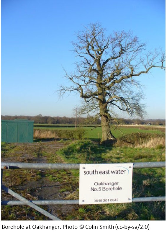 Borehole at Oakhanger