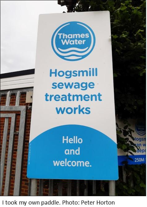 Hogsmill Sewage Works