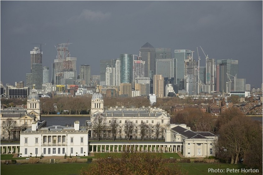 Canary Wharf and RN College