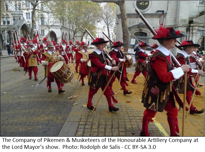 Pikemen and Musketeers