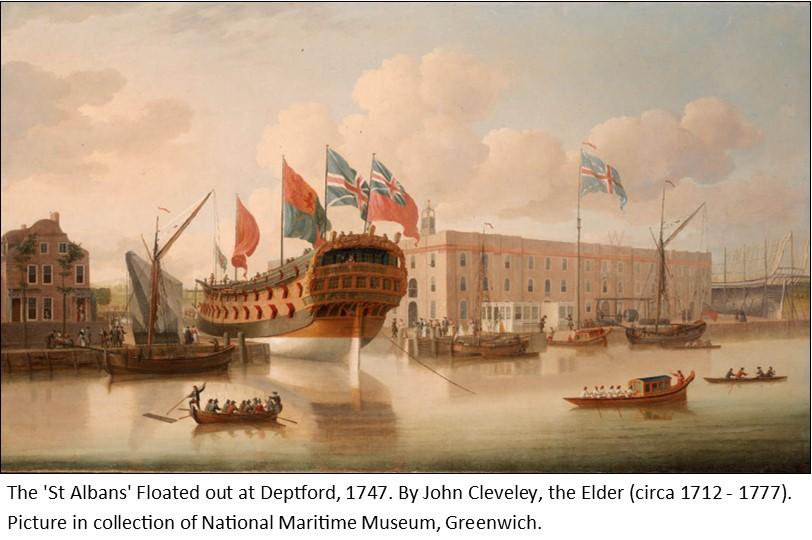 Launch of HMS St Albans