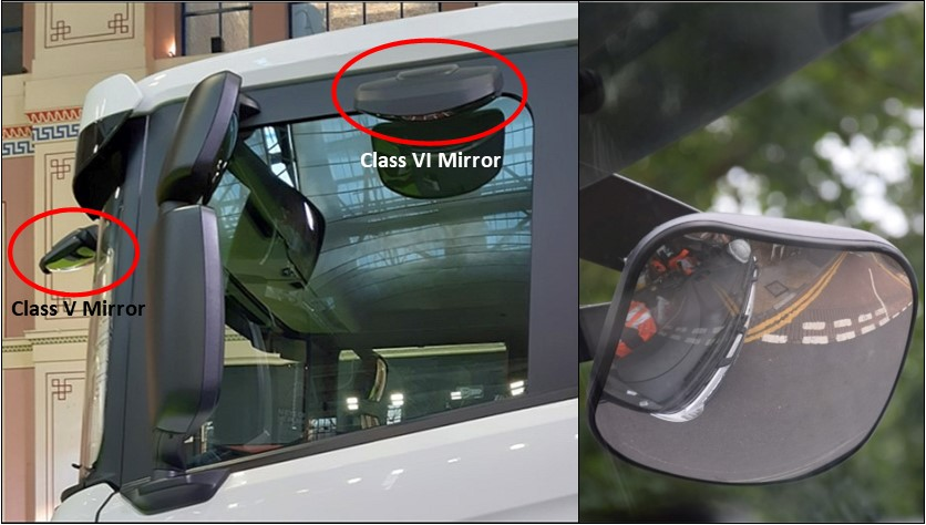 Lorry Cab Mirrors 2
