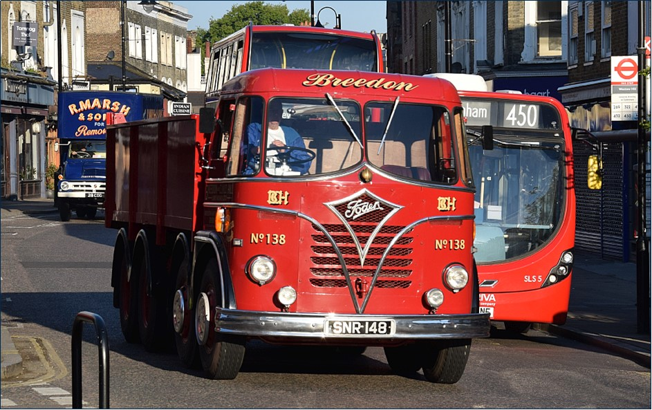 Vintage Lorries Westow Hill